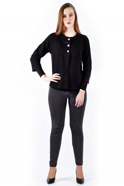 интернет магазин женской одежды,Болеро мод. 1102 Чёрный цвет,блузки от производителя
