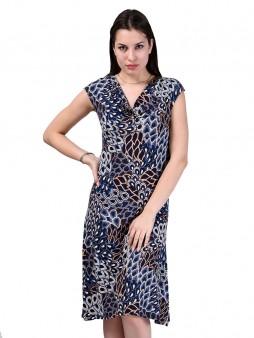 Платье мод. 1413-1 цвет Синий