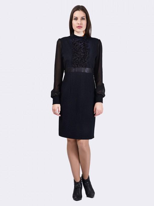 Платье мод. 1415 цвет Черный