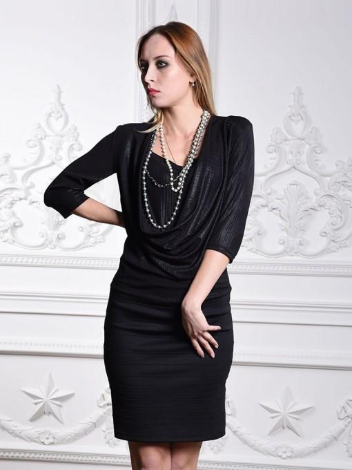 Платье мод. 1434 цвет Черный