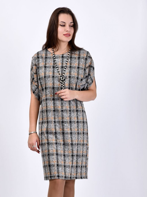 Платье мод. 1443-1 цвет Горчичный