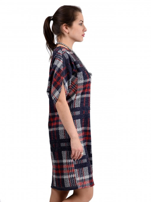 Платье мод. 1443-1 цвет Серый