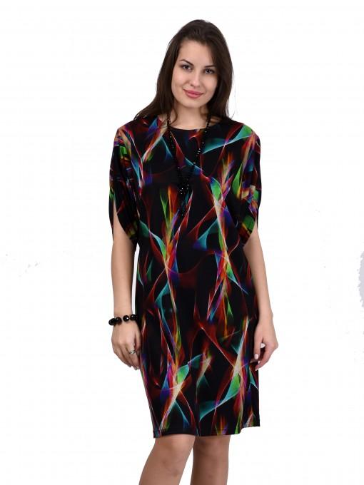 Платье мод. 1443-1 цвет Радуга