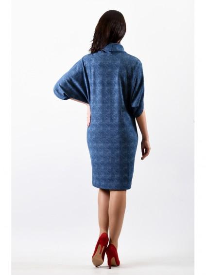 Платье мод. 1443 цвет Голубой