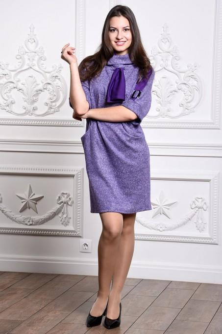 Платье мод. 1445-1 цвет Фиолетовый