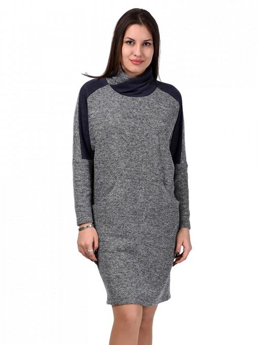 Платье мод. 1445-2 цвет Серый
