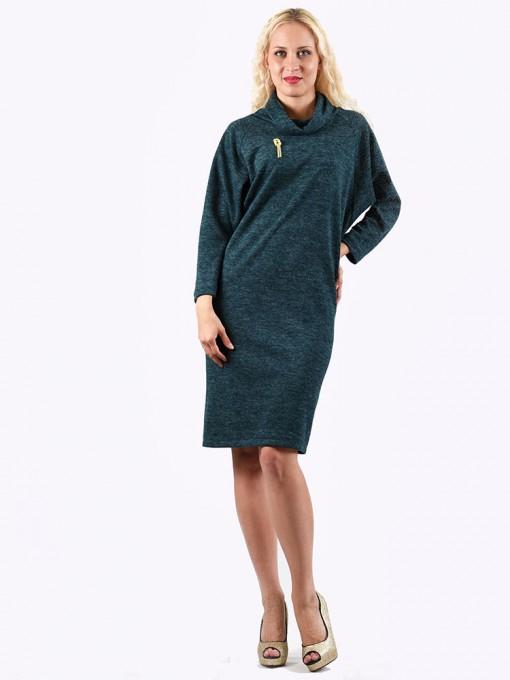 Платье мод. 1446-5 цвет Изумрудный