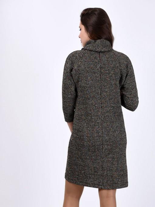 Платье мод. 1446-5 цвет Серый