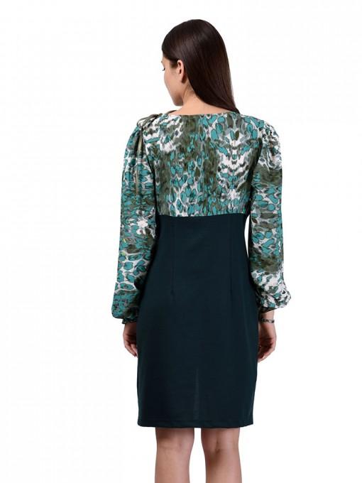 Платье мод. 1450 цвет Изумрудный