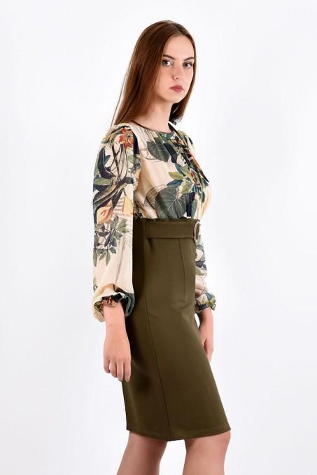 Платье мод. 1450 цвет Молоко