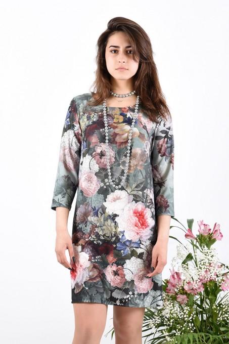 Платье мод. 1454-2 цвет Фисташковый