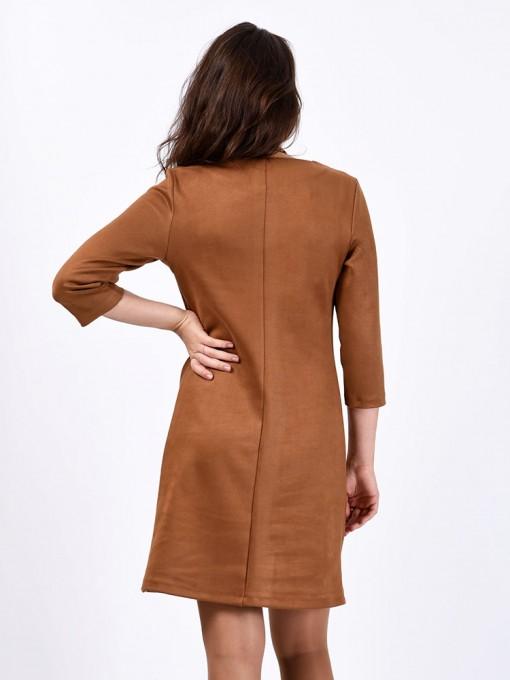 Платье мод. 1454 цвет Бежевый