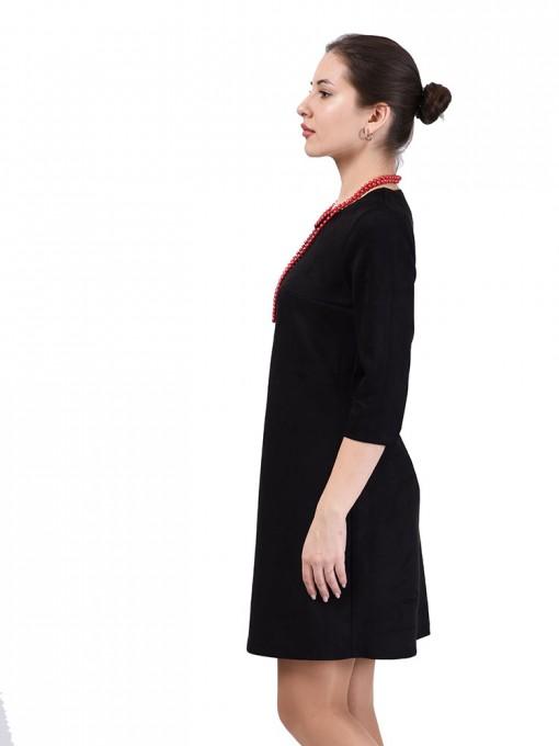 Платье мод. 1454 цвет Черный