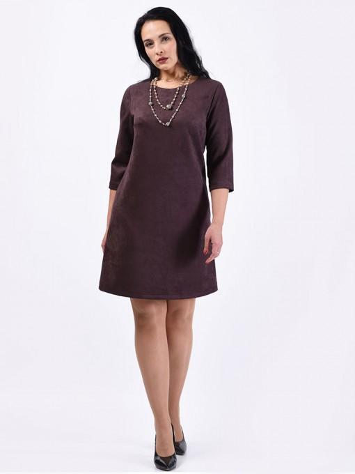 Платье мод. 1454 цвет Коричневый