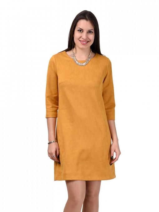 Платье мод. 1454 цвет Горчичный