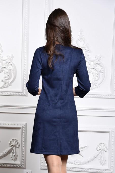 Платье мод. 1454 цвет Синий