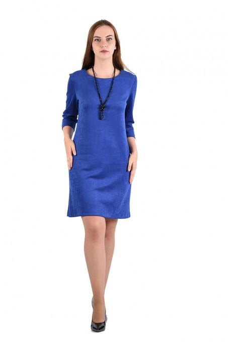 Платье мод. 1454 цвет Васильковый