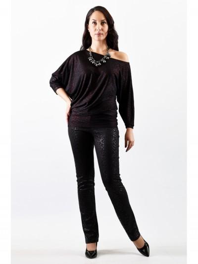 Блуза мод. 1457-2 цвет Чёрный