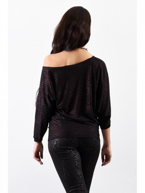 Блуза мод. 1457-2 цвет Черный