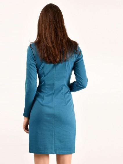 интернет магазин женской одежды,Платье мод. 1460 Бирюза цвет,женская одежда оптом и в розницу