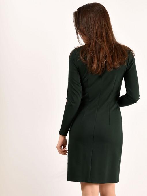 Платье мод. 1460 цвет Изумрудный