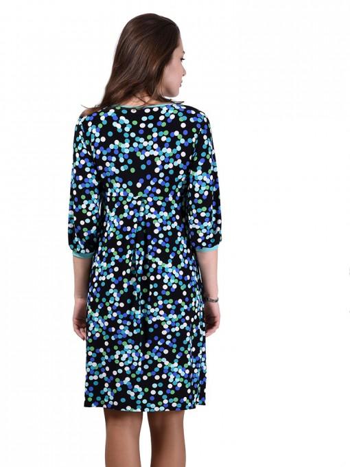 Платье мод. 1463-4 цвет Бирюзовый