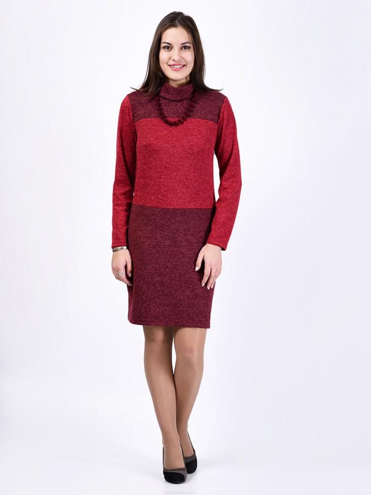 Платье мод. 1472 цвет Бордовый