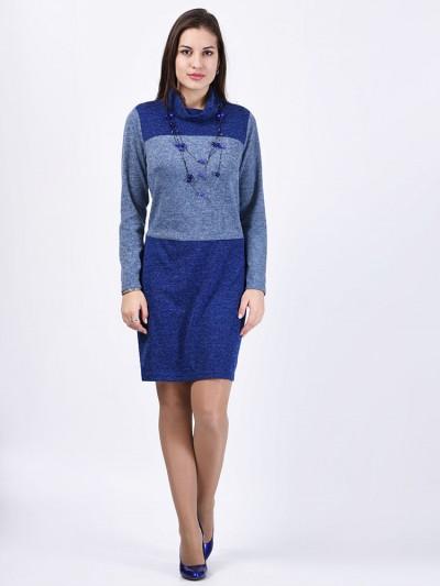 интернет магазин женской одежды,Платье мод. 1472 Синий цвет,женская одежда оптом и в розницу