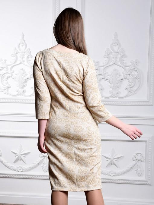 Платье мод. 1482-3 цвет Молочный