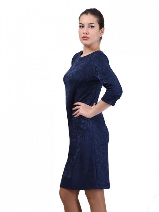 Платье мод. 1482-3 цвет Синий