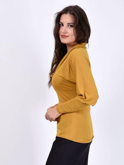 Блуза мод. 1504 цвет Горчичный