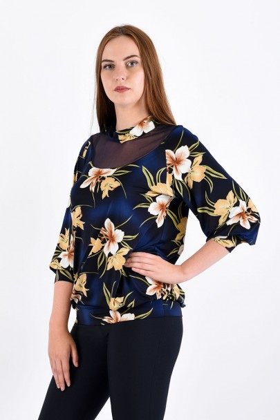 Блуза мод. 1506 цвет Бежевый