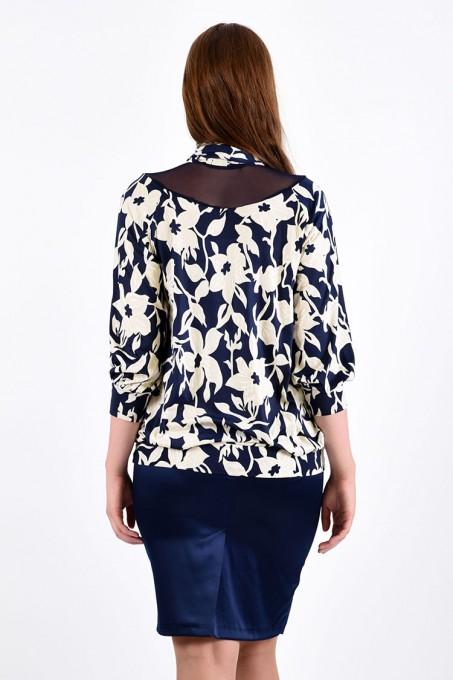 Блуза мод. 1506 цвет Молоко
