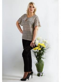 Блузка мод. 1516 цвет Чёрный