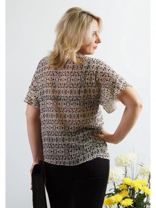 Блузка мод. 1516 цвет Черный