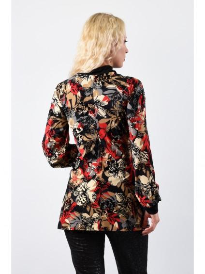 Туника мод. 1517 цвет Красный