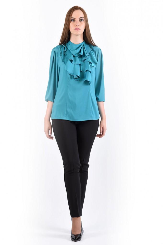 Блуза мод. 1524 цвет Бирюза