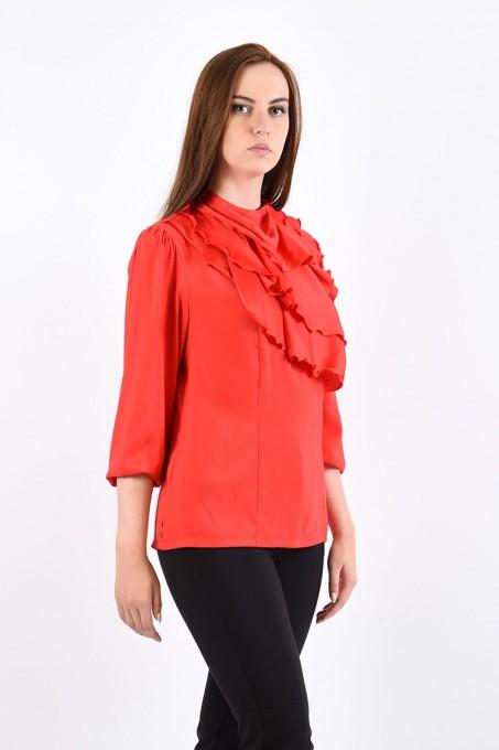 Блуза мод. 1524 цвет Красный