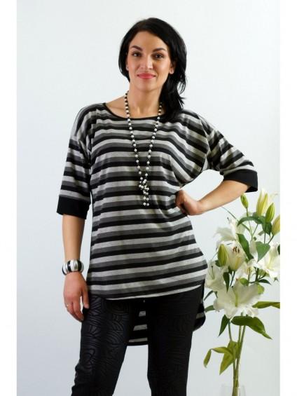 Блуза мод. 1536 цвет Серый