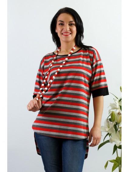 Блуза мод. 1536 цвет Красный