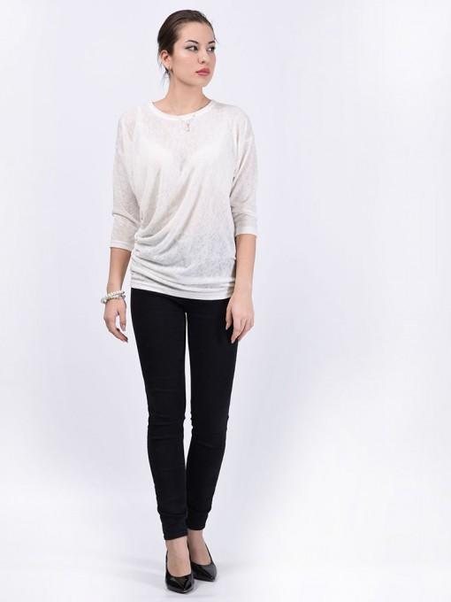 Блуза мод. 1538 цвет Белый