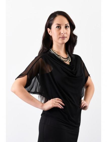 Блуза мод. 1541 цвет Чёрный