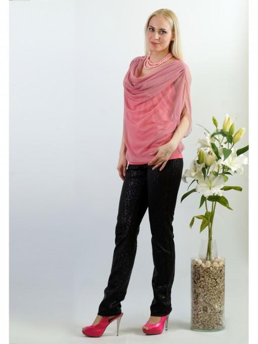 Блуза мод. 1541 цвет Розовый