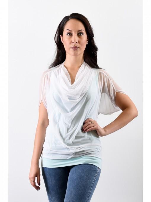 Блуза мод. 1541 цвет Белый