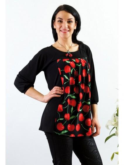Туника мод. 1544-2 цвет Вишня