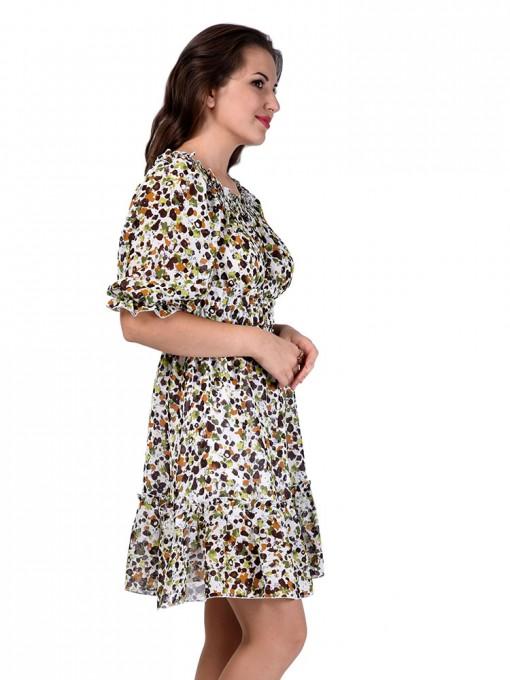 Платье мод. 1564-1 цвет Зеленый