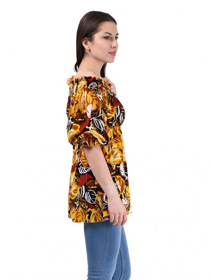 Блузка женская 1564 Желтый ,интернет магазин женской одежды SHEGIDA