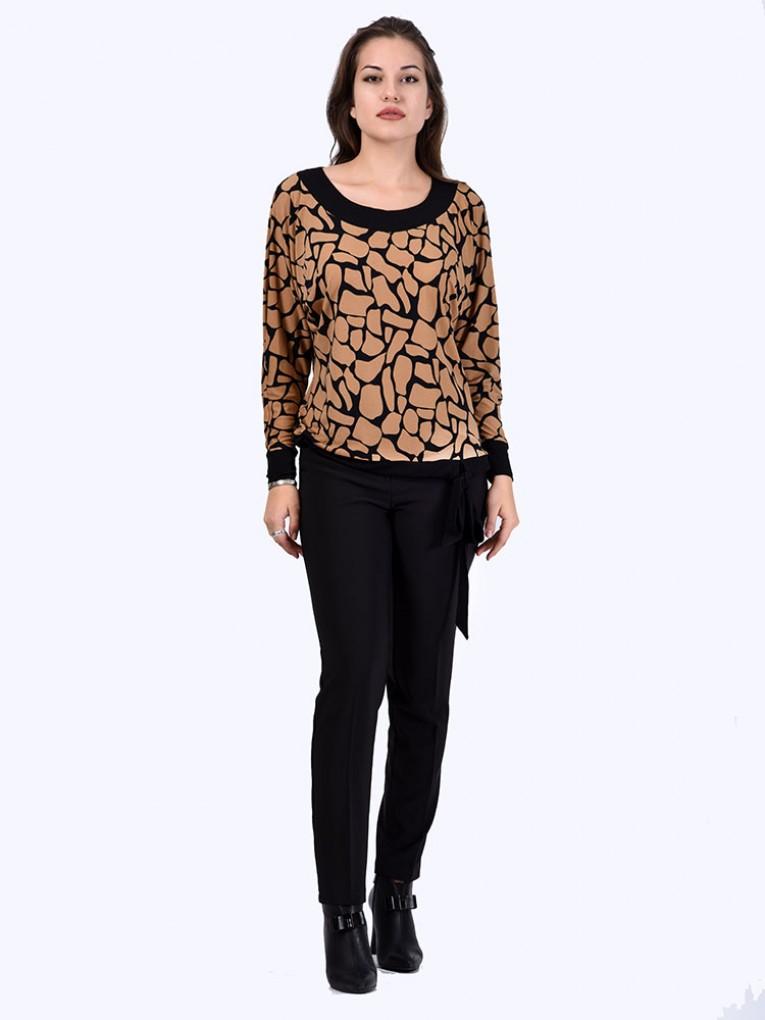 Блуза мод. 1566 цвет Жираф