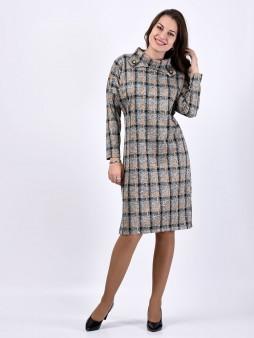 Платье мод. 1574-1 цвет Горчичный