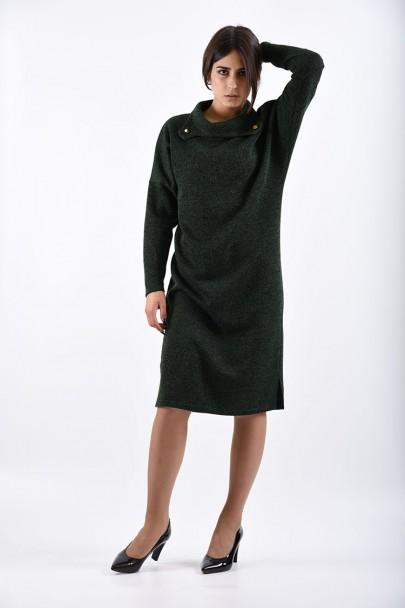 Платье мод. 1574-1 цвет Зеленый